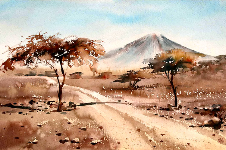 Acacia Trees by Louis Hill