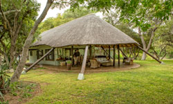Relax after your game drives in one of the camps lounges.